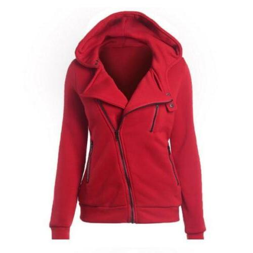 Women Slim Ladies Hooded