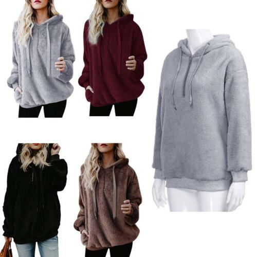 WOMENS WINTER CASUAL ZIP UP ZIPPER