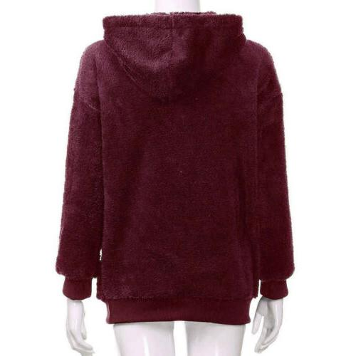 WOMENS WINTER UP HOODIE JACKET ZIPPER