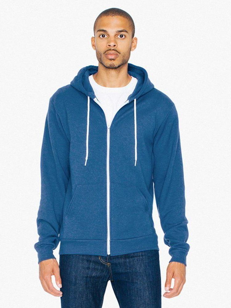 American - Zip Hoodie UNISEX Hooded Sweatshirt XS-2XL,