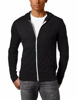 Men's Alternative Lightweight 'Eco-Heather' Zip Front Hoodie