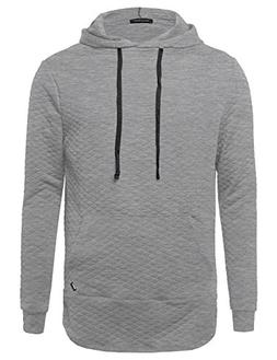 Style by William Long Sleeve Stylish Hoodie With Side Zipper