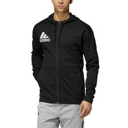 Men's Adidas Climacool Big & Tall Jersey Full-Zip Hoodie, Bl