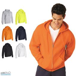 Gildan Mens DryBlend Hooded Full-Zip Hoodie Classic Zipper S