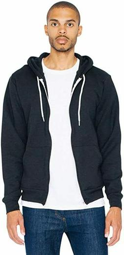 American Apparel Men's Flex Fleece Long Sleeve Zip Hoodie S
