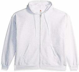 Hanes Men's Full-Zip EcoSmart Fleece Hoodie - Choose SZ/Colo