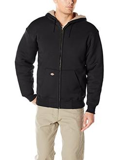 Dickies Men's Sherpa Lined Fleece, Black, Small