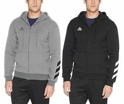adidas Men's Sport Full Zip Fleece Hoodie Sweatshirt