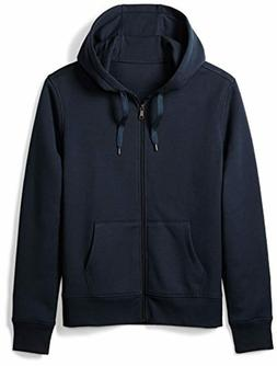 Amazon Essentials Men's Standard Full-Zip Hooded Fleece Swea