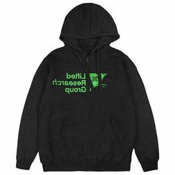 LRG Men's Tree Unit EC Long Sleeve Zip Hoodie Black Clothing