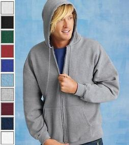 HANES Men's Ultimate Cotton Full-Zip Hooded Sweatshirt Hoodi