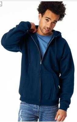 Hanes Men's Ultimate Cotton® Full Zip Hoodie size Medium