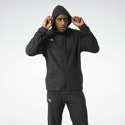 Reebok Men's Workout Ready Fleece Zip-Up Jacket