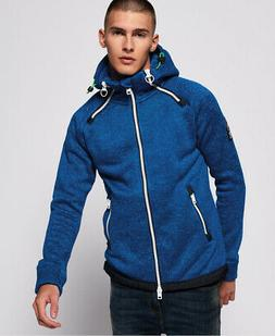 Superdry Mens Double Storm Zip Hoodie