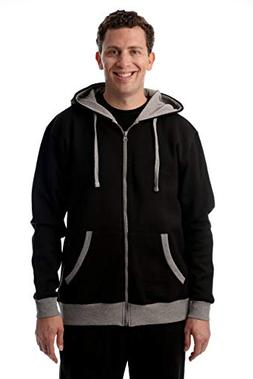 At The Buzzer Mens Hoodies with Zipper - Sweatshirts for Men