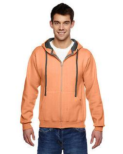 Fruit of the Loom Mens SF73R 7.2oz Sofspun Full-Zip Hooded S
