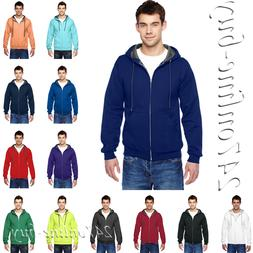Fruit of the Loom Mens SofSpun Hooded Full Zip Sweatshirt Ho