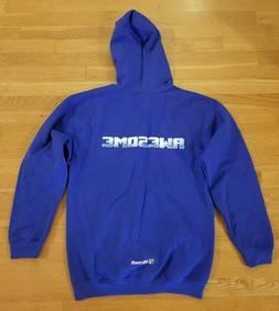 MICROSOFT 'AWESOME' Jacket Hoodie, NEW, PROMO, Zippered, Med