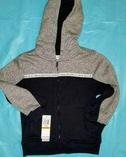 new hoodie with zipper size 3t boys