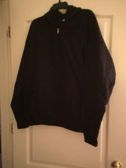 NWOT Hanes Comfort Blend  Zippered JACKET Hoodie Mens 2XL Bl