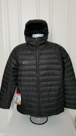 NWT THE NORTH FACE MENS TREVAIL HOODIE JACKET DOWN BLACK XL
