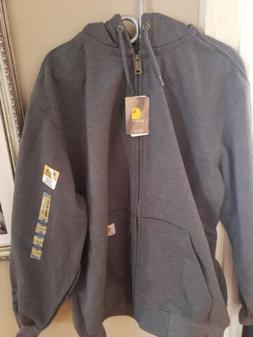 NWT: Carhartt Zip Up Hoody Water Repellant Mens XL