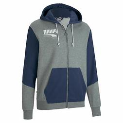PUMA Men's Rebel Block Full Zip Hoodie