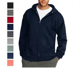 Republic Blues Mens Full Zip Hoodie Sweater 2X 3X 4X 5X 6X