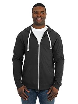Fruit of the Loom Mens Sofspun Cotton Jersey Full-Zip SF60R