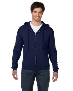 Fruit of the Loom Best Collection Men's Fleece Full Zip Hood