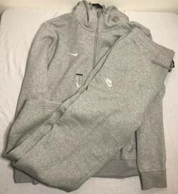 Nike Sweat Suit Men's Complete Set Full Zip Hoodie Joggers F