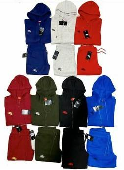 NIKE SWEATSUIT ZIP UP HOODIE AND JOGGERS COMPLETE SET FAST F