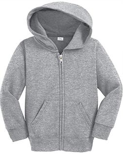 Toddler Full Zip Hoodies - Soft and Cozy Hooded Sweatshirts,