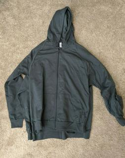 Two American Apparel California Fleece Zip hoodie Large