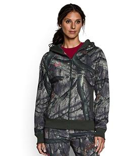 Under Armour Women's UA Camo Full-Zip Hoodie X-Large Mossy O