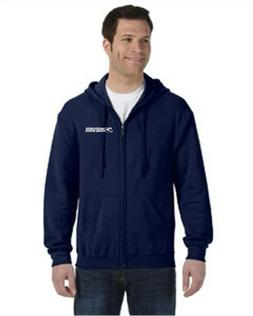 USPS POSTAL ZIPPERED HOODIE WITH LOGO GREAT FOR ALL POSTAL W
