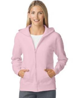 Hanes Womens ComfortSoft™ EcoSmart® Full-Zip Hoodie Sweat