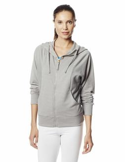 Womens Sew What Cover Up Hoodie Hooded Sweatshirt Zippered S