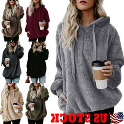 womens winter casual zip up hoodie jacket