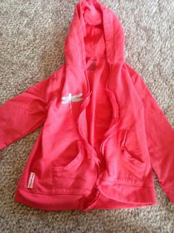 Silly Souls zip up hoodie size 6t